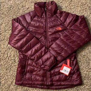 Women's  Northface puffer coat